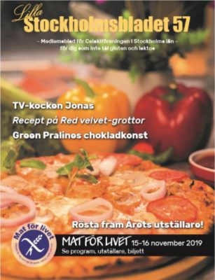Medlemstidning Celiakiföreningen i Stockholms län