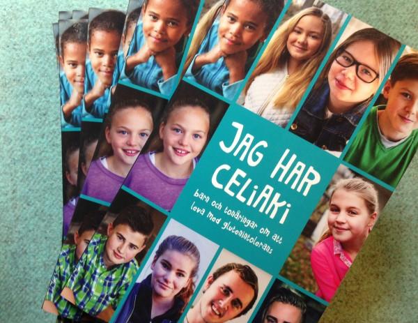 Vår nya bok om barn och celiaki