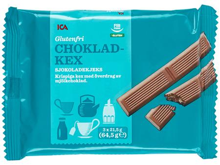 ICA återkallar glutenfritt chokladkex