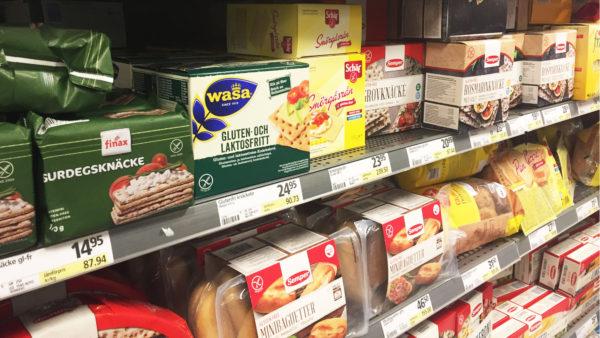 gluten och laktosfri kost