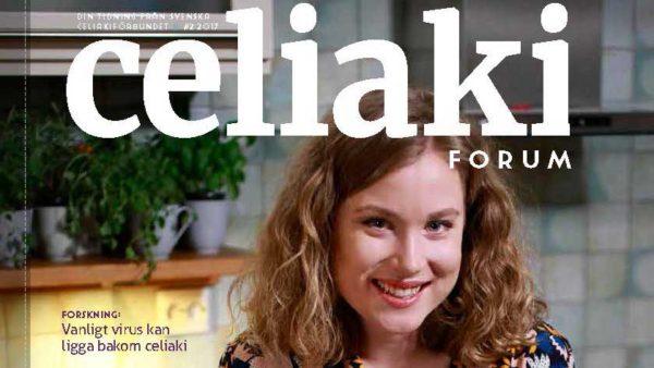 Nytt nummer av CeliakiForum