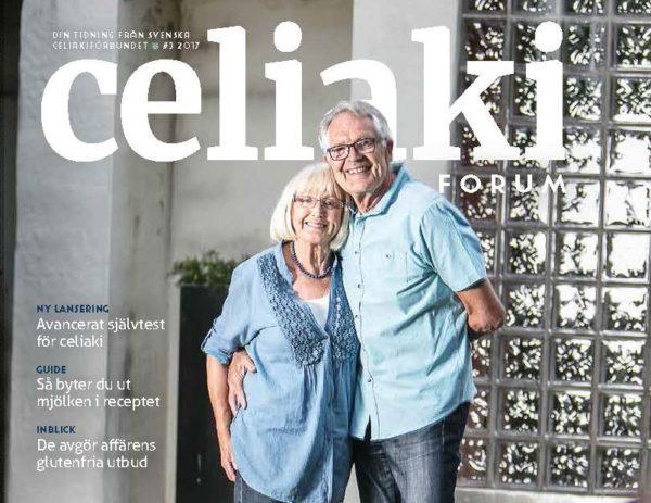 Nytt höstnummer av vår medlemstidning CeliakiForum