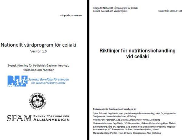 Nytt nationellt vårdprogram för celiaki