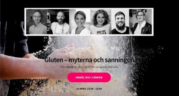 SCF och Brödinstitutet anordnar webinarium om gluten