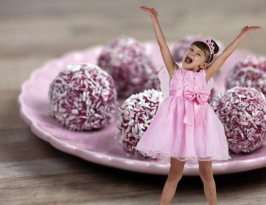 Recept på Hallonbollar med Bella Bakar utan socker, vete och laktos!