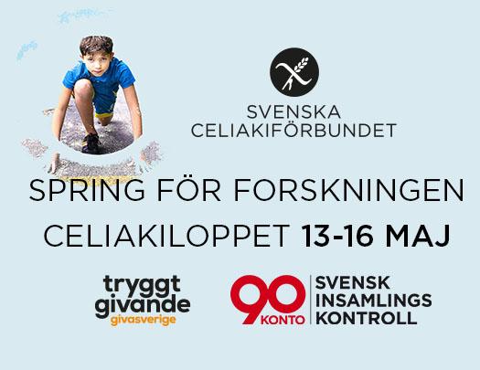 CeliakiLoppet 13-16 maj 2021