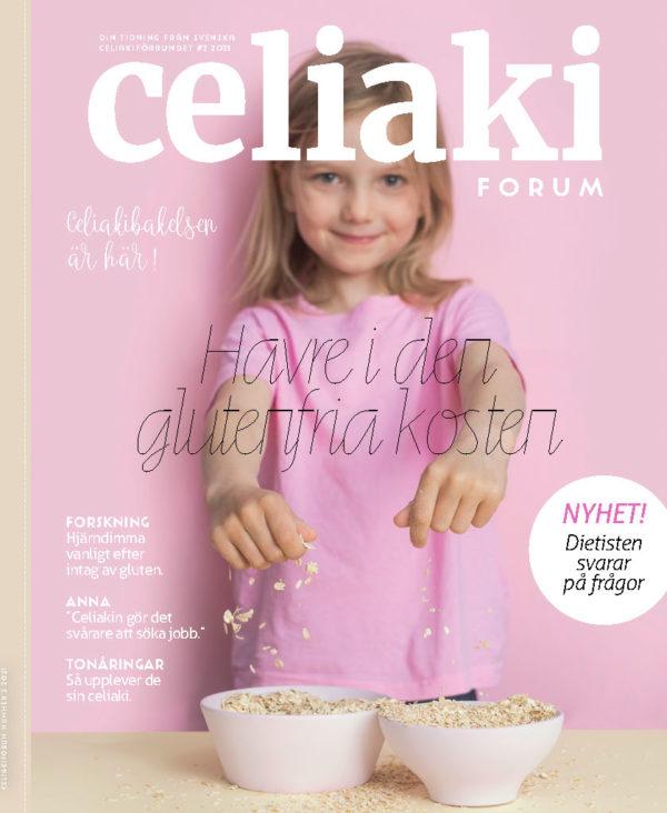 Senaste numret av CeliakiForum är här!