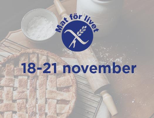 Det blir en digital Mat för livet-mässa 18-21 november
