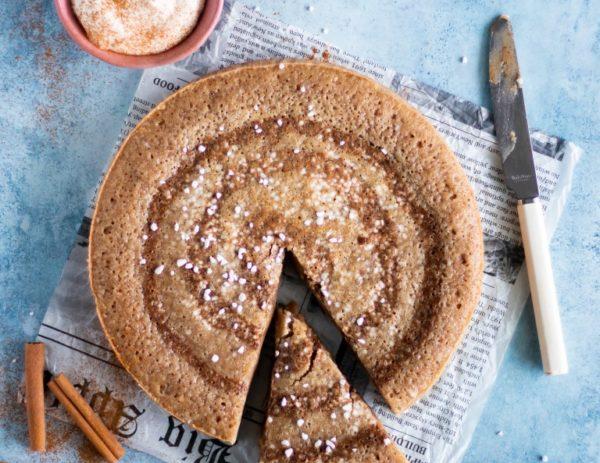 Recept på glutenfri kanelbullekladdkaka!