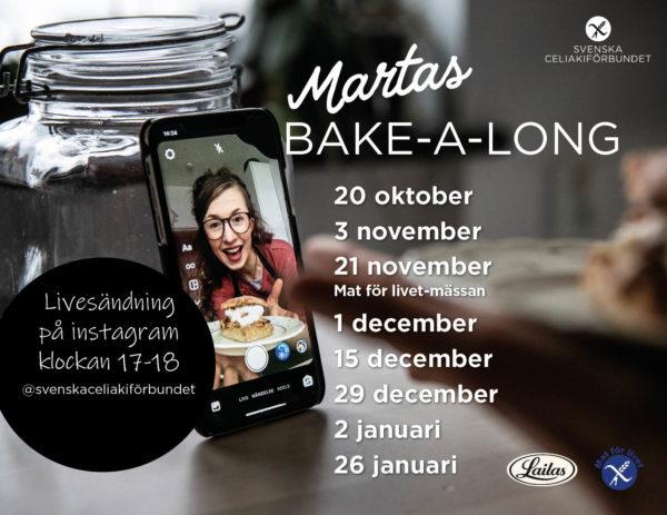 Martas live Bake-a-long är tillbaka!
